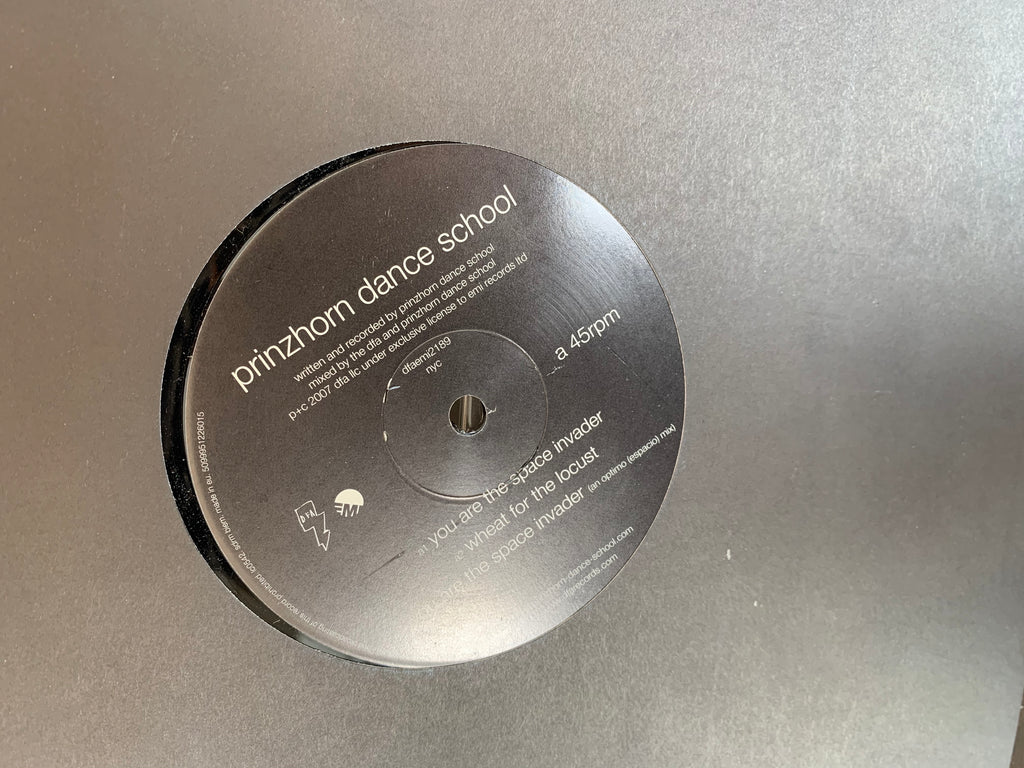 Prinzhorn Dance School - You Are The Space Invader OPTIMO REMIX 12""