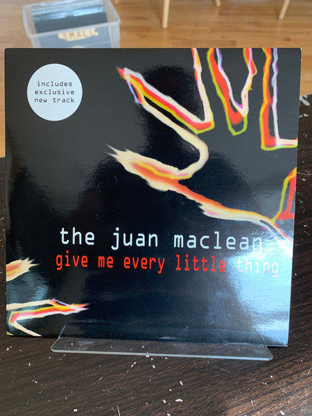 "The Juan Maclean - Give Me Every Little Thing 7"" (Vocals by James and Nancy)"