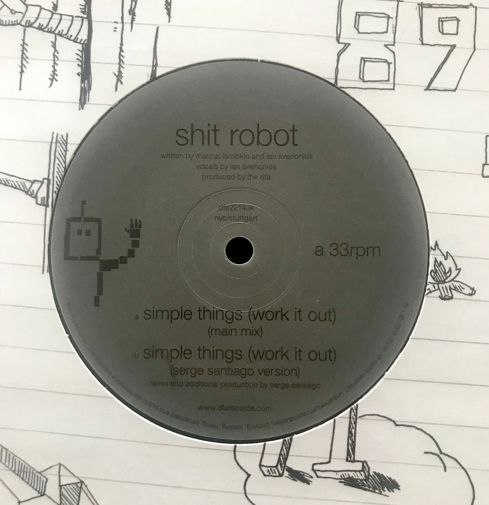 Shit Robot - Simple Things (Work It Out)