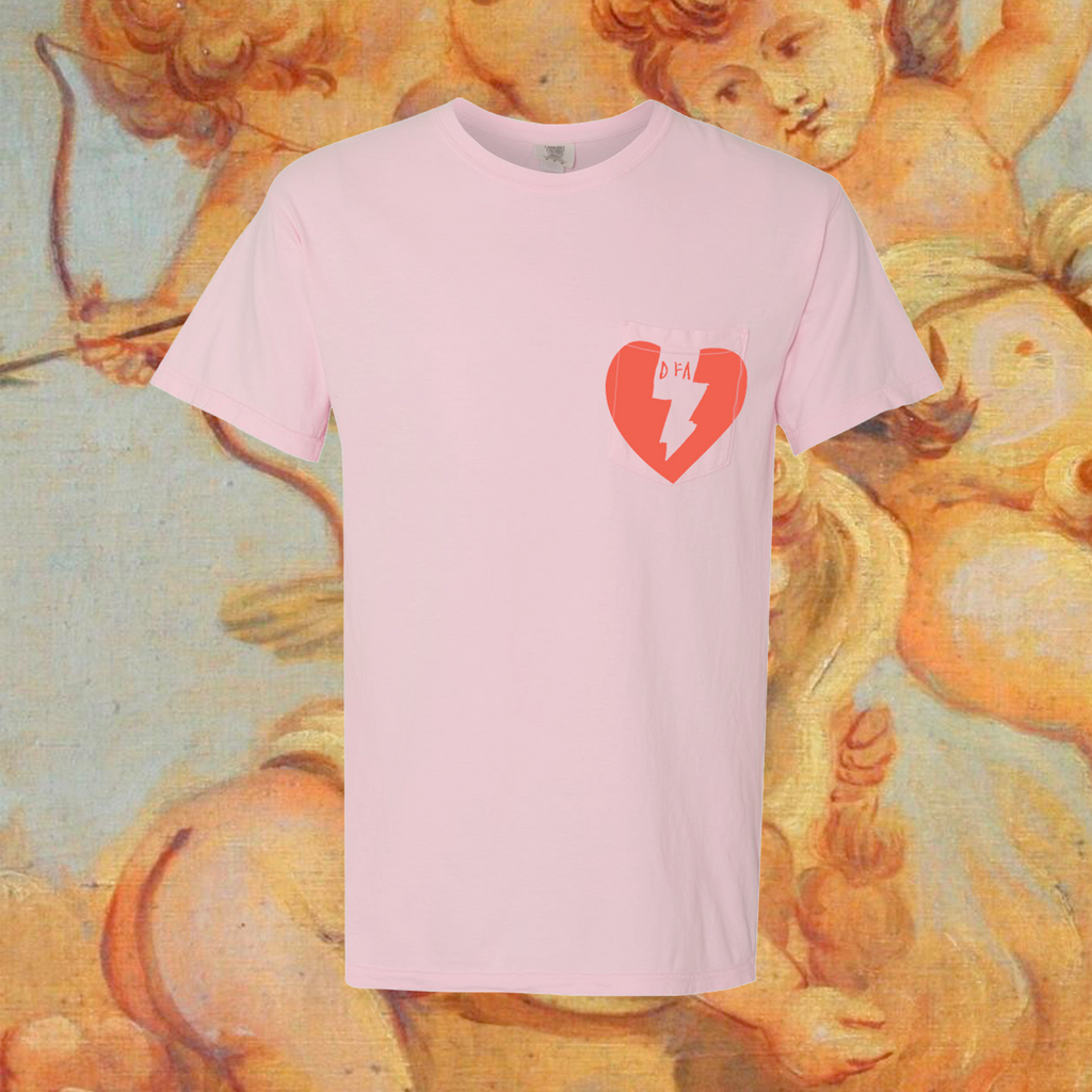 Pigment Dyed Heart Shirt