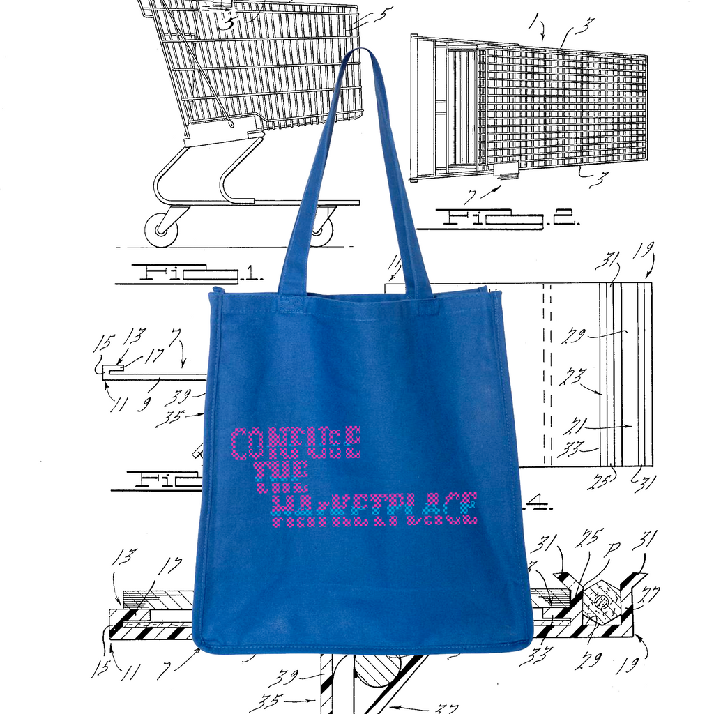 Confuse The Marketplace Tote Bag (Second Edition)