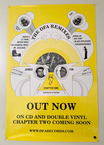 DFA - The Remixes Vol. 1 Poster