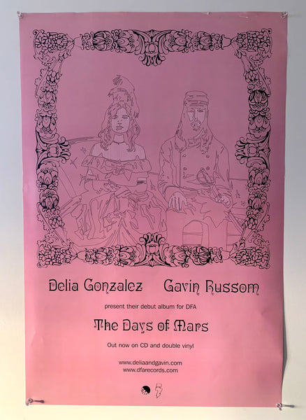 Delia & Gavin - The Days Of Mars Poster