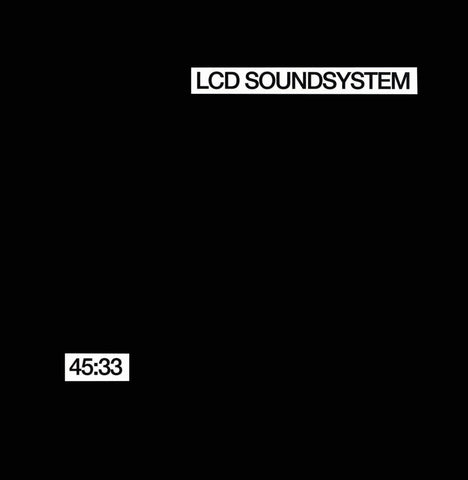 LCD Soundsystem - 45:33 2xLP & CD