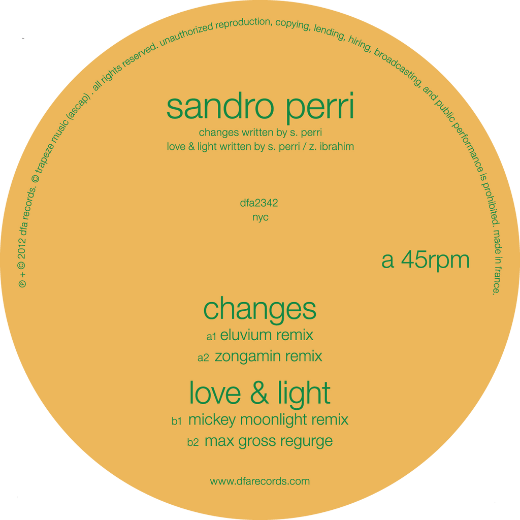 Sandro Perri - Remixes