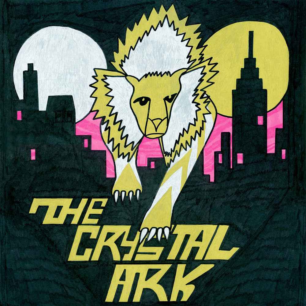 The Crystal Ark - The Crystal Ark (2xLP) LTD Silk Screen artwork