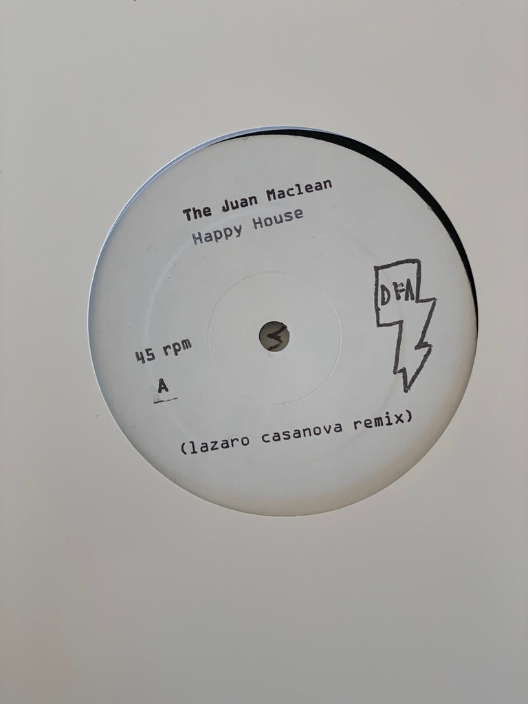 "The Juan Maclean - Happy House - Remixes #1 (White Label 12"")"
