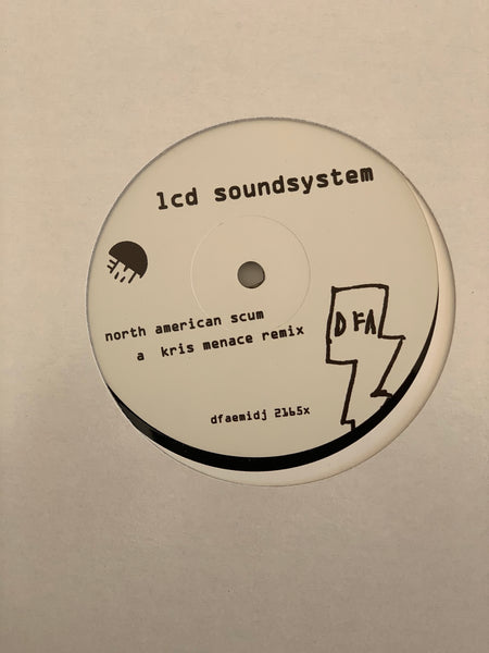 "LCD Soundsystem - North American Scum Remixes (White Label 12"")"