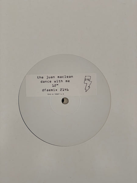 "The Juan Maclean - Dance With Me (White Label 12"")"