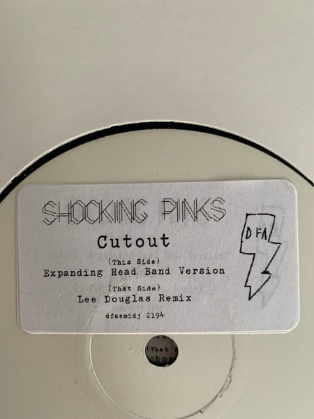 "Shocking Pinks - Cutout / Dressed To Please REMIXES (White Label 12"" x 2)"