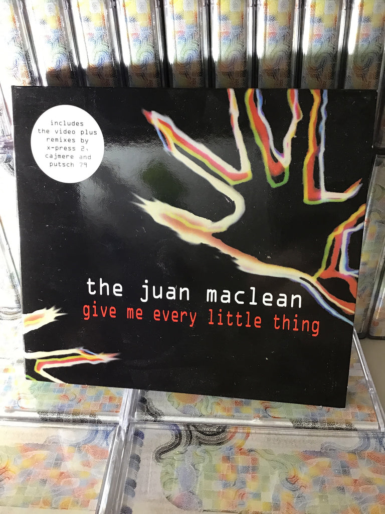 The Juan Maclean - Give Me Every Little Thing CD / EMI UK