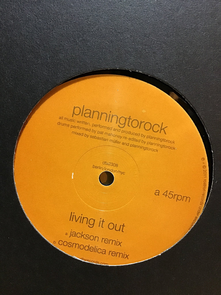 "Planningtorock - Living it Out 12"" w/ Jackson + Cosmodelica Remixes"