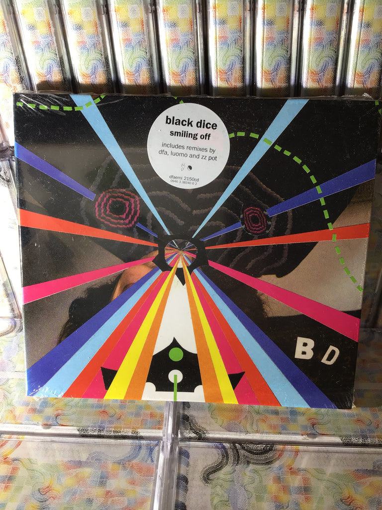 Black Dice - Smiling Off CD w/ DFA Remix