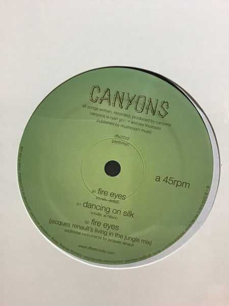 Canyons - Fire Eyes 12""