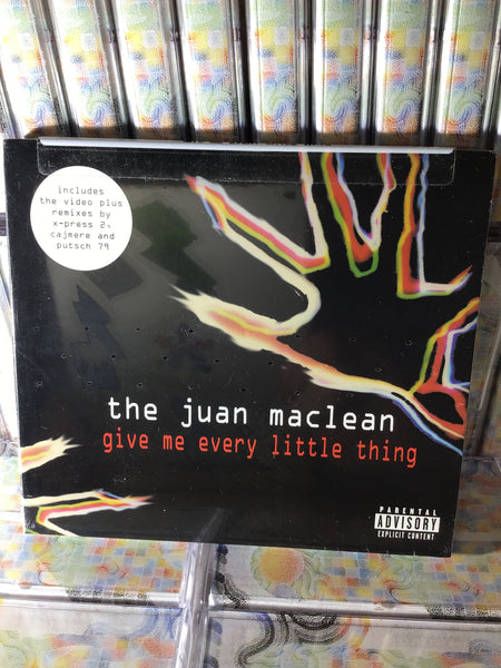 The Juan Maclean - Give Me Every Little Thing CD / US release