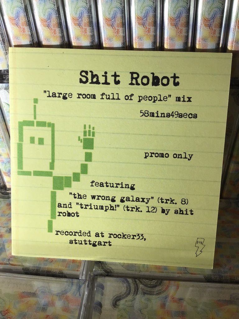 Shit Robot - Large Room Full Of People CD / promo only DJ mix