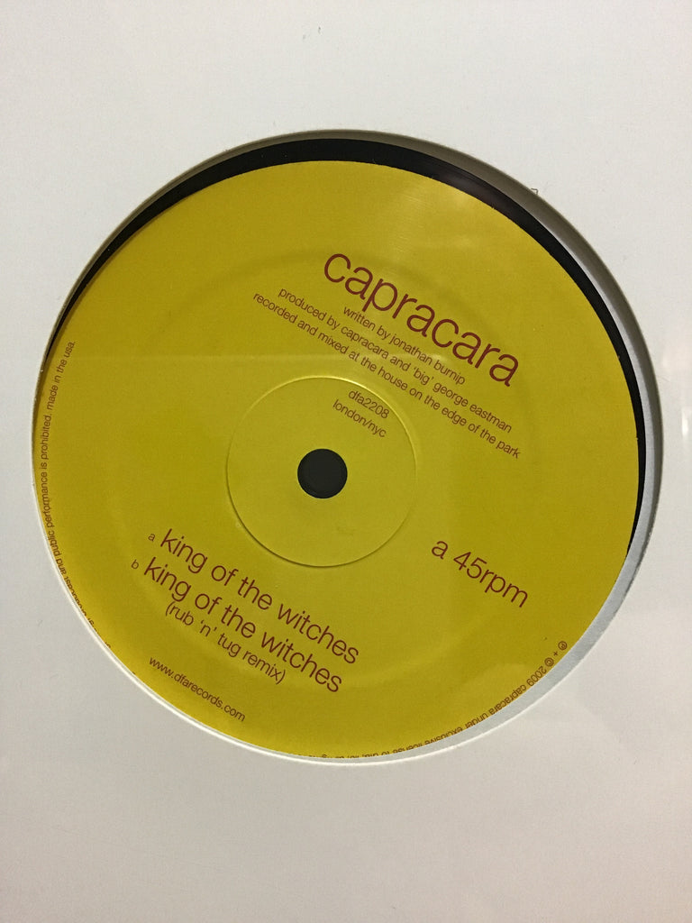 "Capracara - King of The Witches 12"" w/ Rub 'N' Tug Remix"