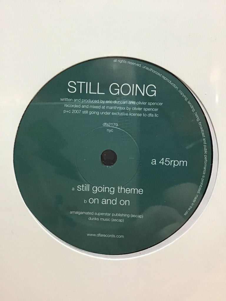 Still Going - Still Going Theme 12""