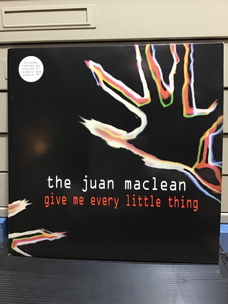 The Juan Maclean - Give Me Every Little Thing 12x2  w/ vocals by James Murphy and Nancy Whang