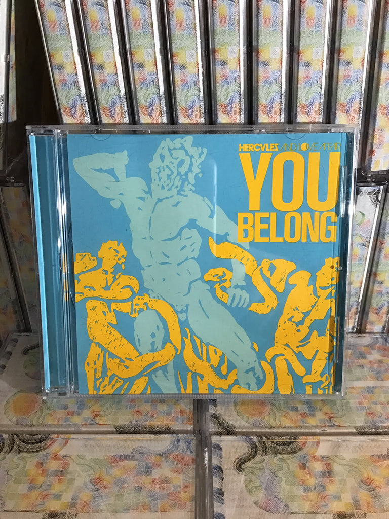 Hercules & Love Affair - You Belong CD / Mute UK