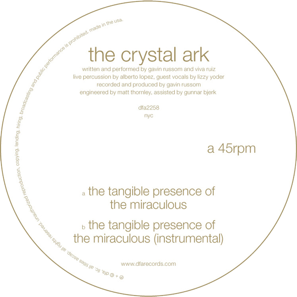 The Crystal Ark - The Tangible Presence Of The Miraculous 12""