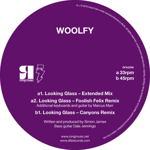 Woolfy - Looking Glass