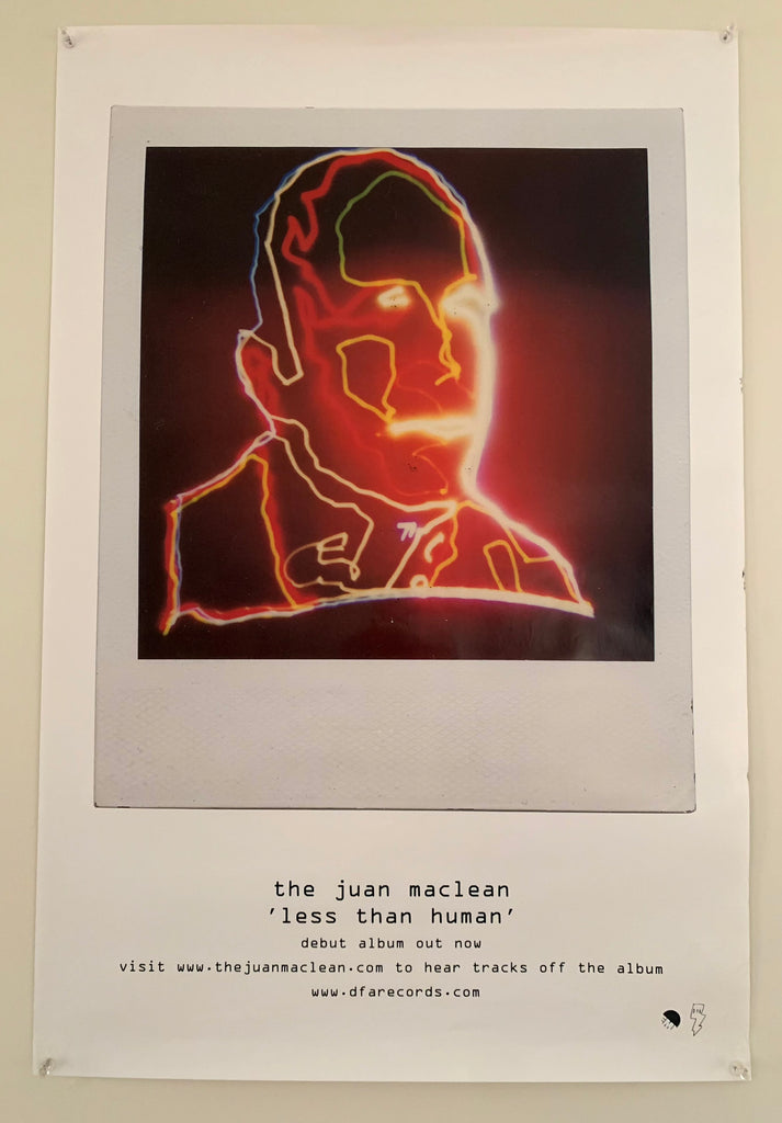 The Juan Maclean - Less Than Human Poster