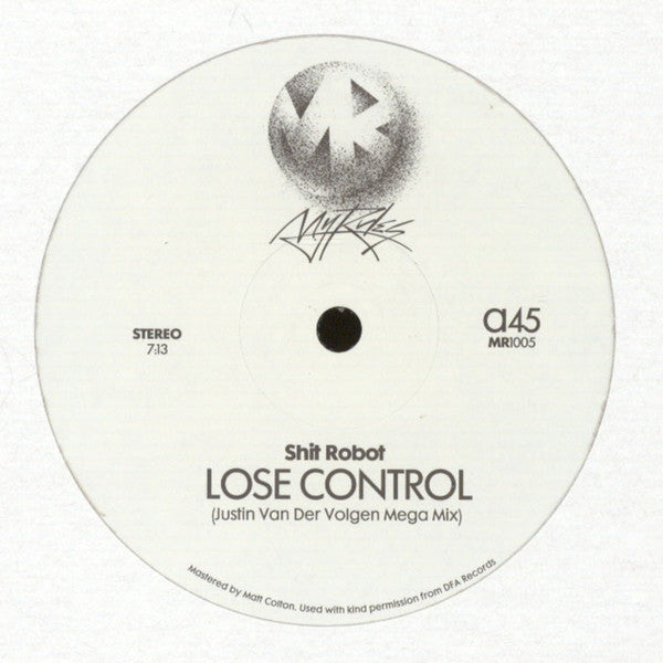 Shit Robot & Felix Dickinson - Lose Control / Burning Flame (Justin Van Der Volgen Remixes)