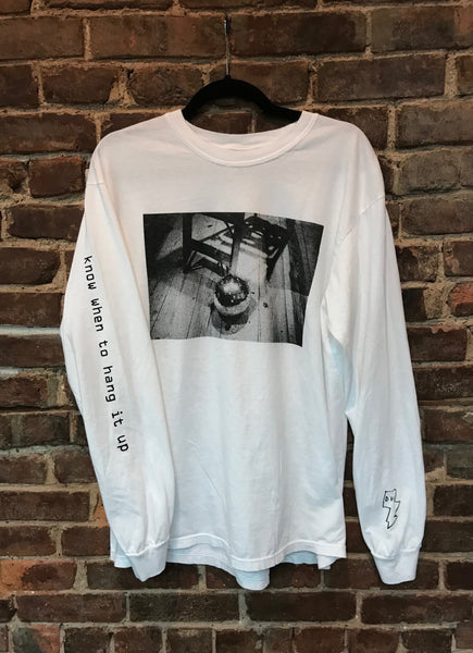"DFA x Matt Shaw: ""Know When To Hang It Up"" Long Sleeve T-Shirt"