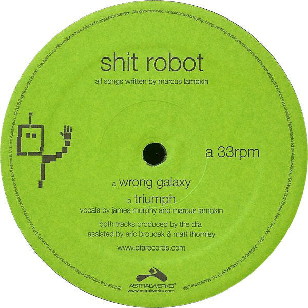 Shit Robot - Wrong Galaxy 12""