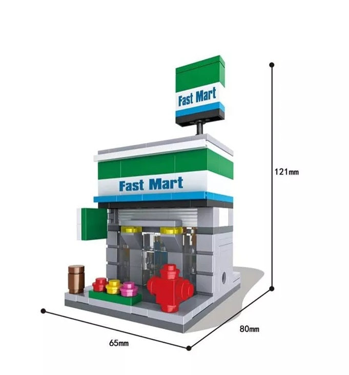 City Series Mini Street Retail Stores With Box Free /& Fast Shipping