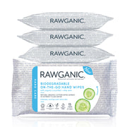 RAWGANIC On-The-Go Hand Wipes