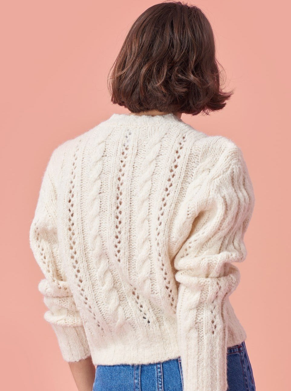 Vintage Style Cable Cardigan