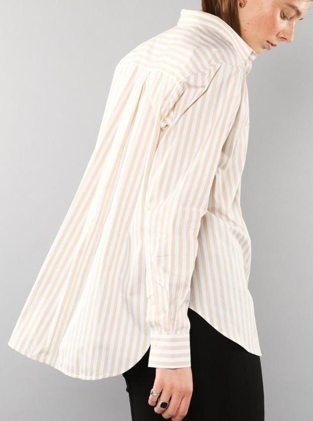 Oatmeal Stripe Shirt
