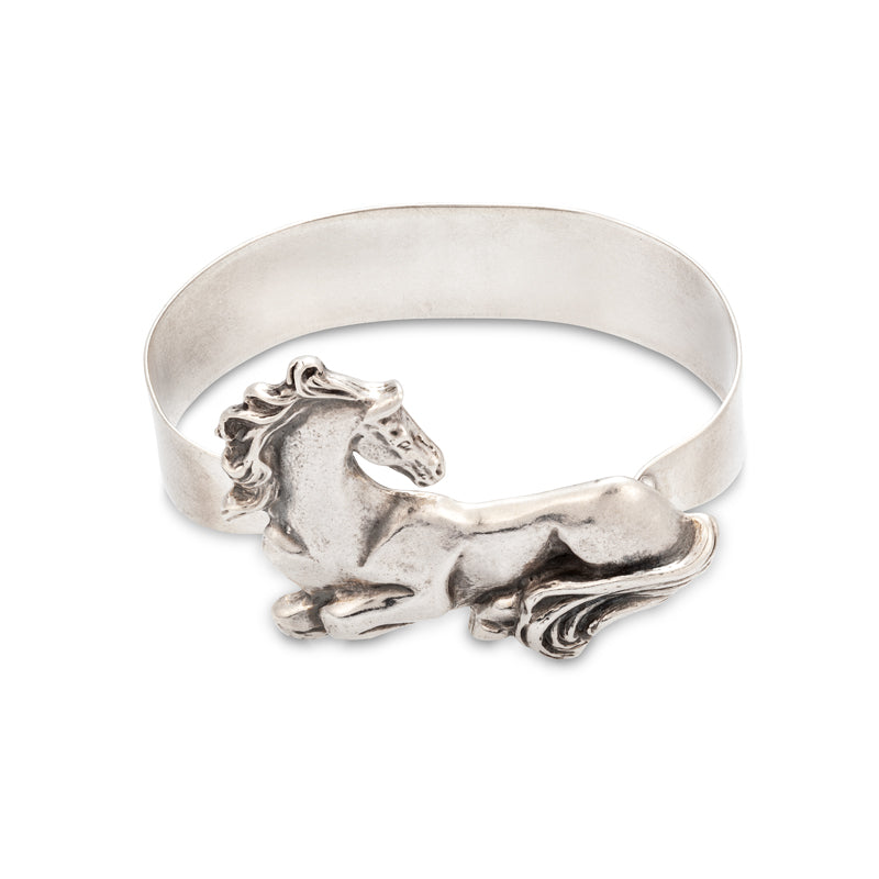 Laying Down Horse Bangle