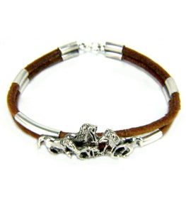 The Herd Leather Bracelet