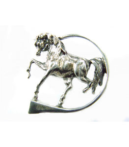 Horse with a Hoofnail Brooch