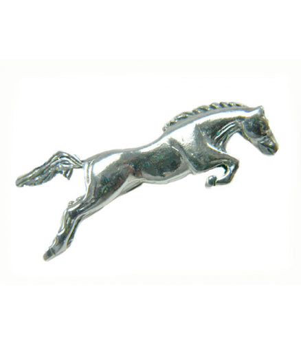 Jumping Horse Brooch