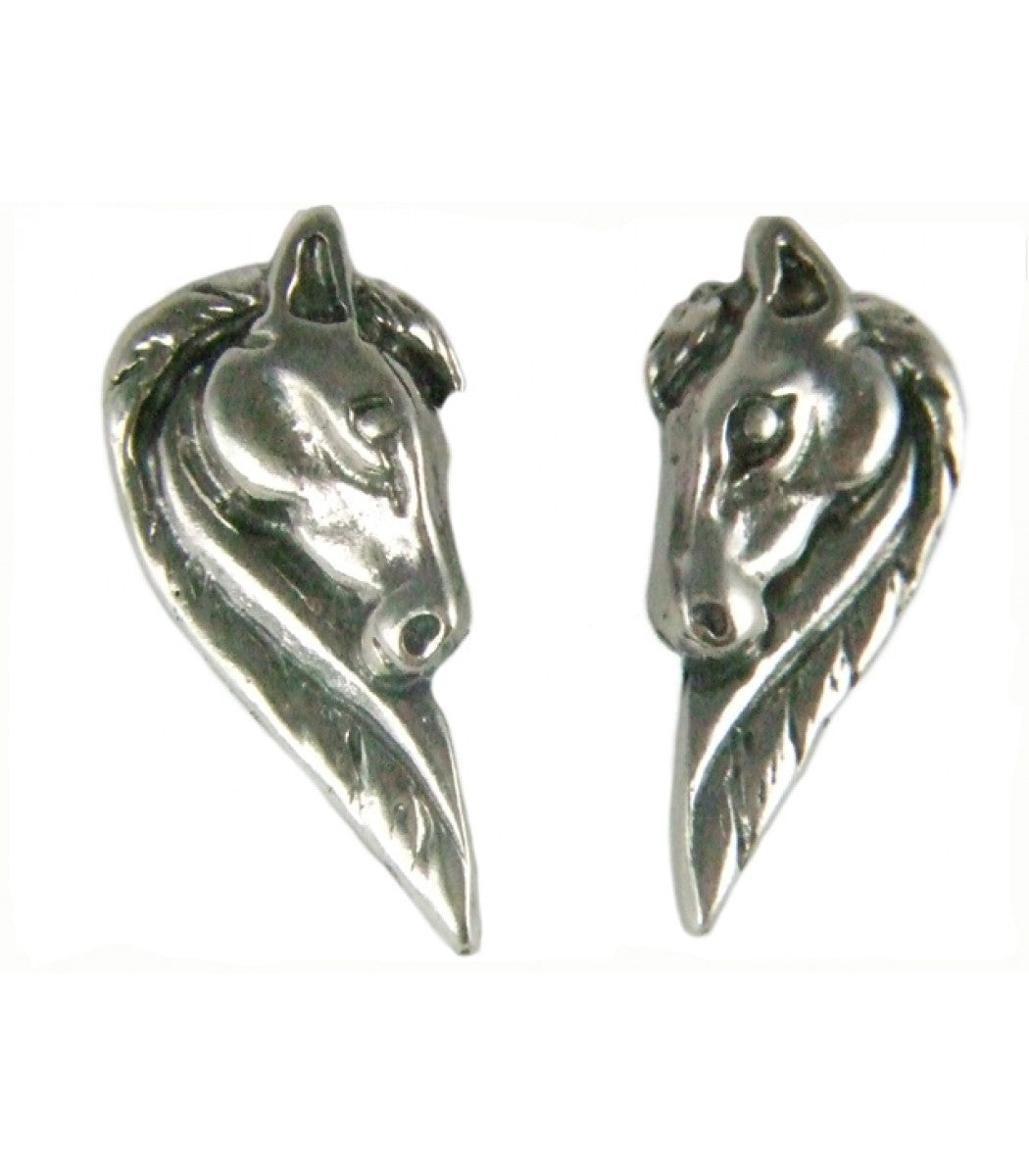 Long maned Horse Head Studs