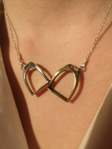 Two Stirrups Necklace