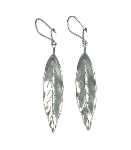 Long Leaf Dangling Earrings