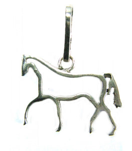 Horse Outline Pendant