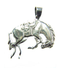 Load image into Gallery viewer, Bucking Horse Pendant