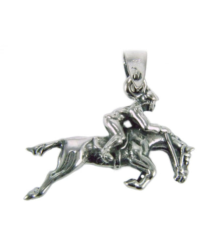 Jumping Horse&Rider Pendant