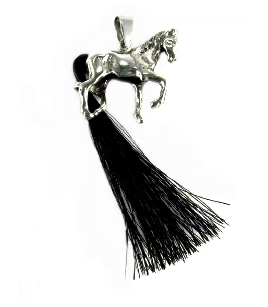 Genuine Horse Tail Pendant