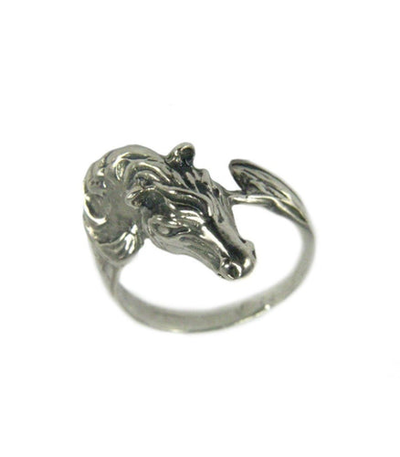 Horse Head Ring 4