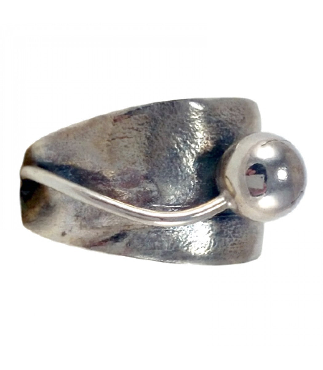 One Round Bud Underband Ring