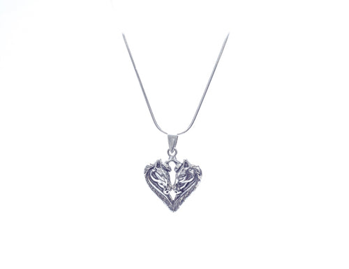 Heart - shaped Pendant