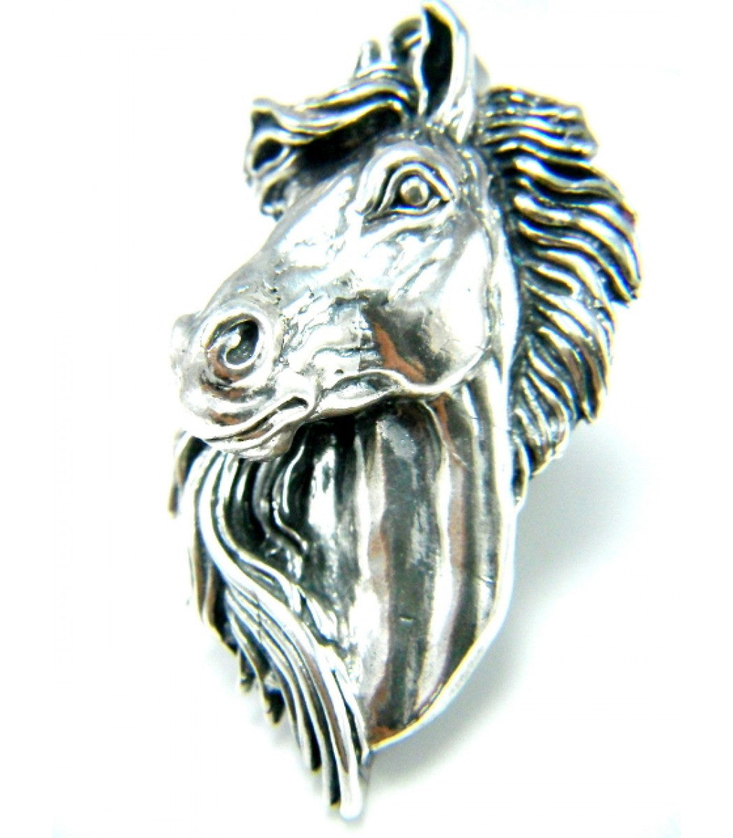 Silver Steed Pendant