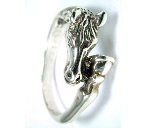 Horse Head&Hoof Ring